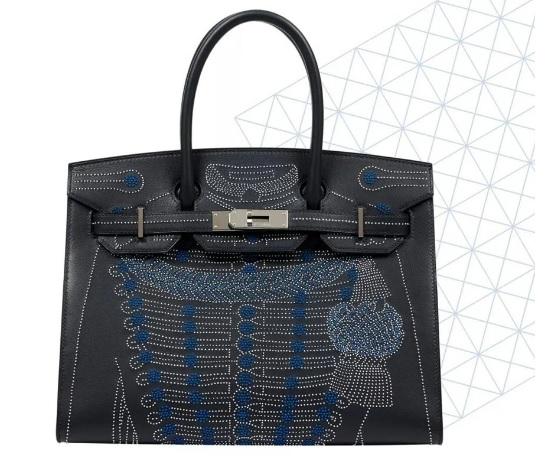 00 Bu nakışlı Hermes Birkin çanta Çin'de karantina sonrası astronomik fiyata satılan limited parçalardan biri